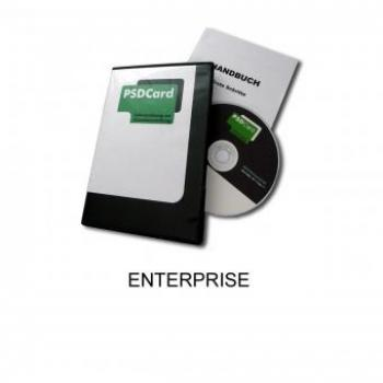 PSDCard Enterprise Kartendrucker-Software