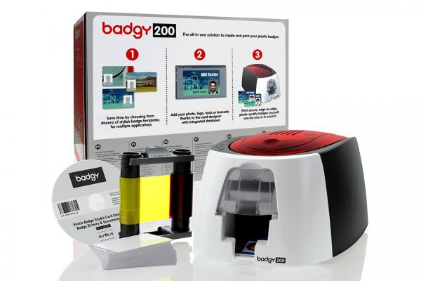 EVOLIS BADGY 200 - Kartendrucker-Set EVOLIS BADGY 200 Kartendrucker-Set günstig kaufen